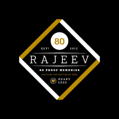 rajeev 80 proof memories cover