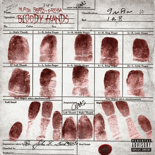 murda beatz bloody hands