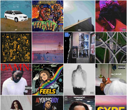 top albums of 2017