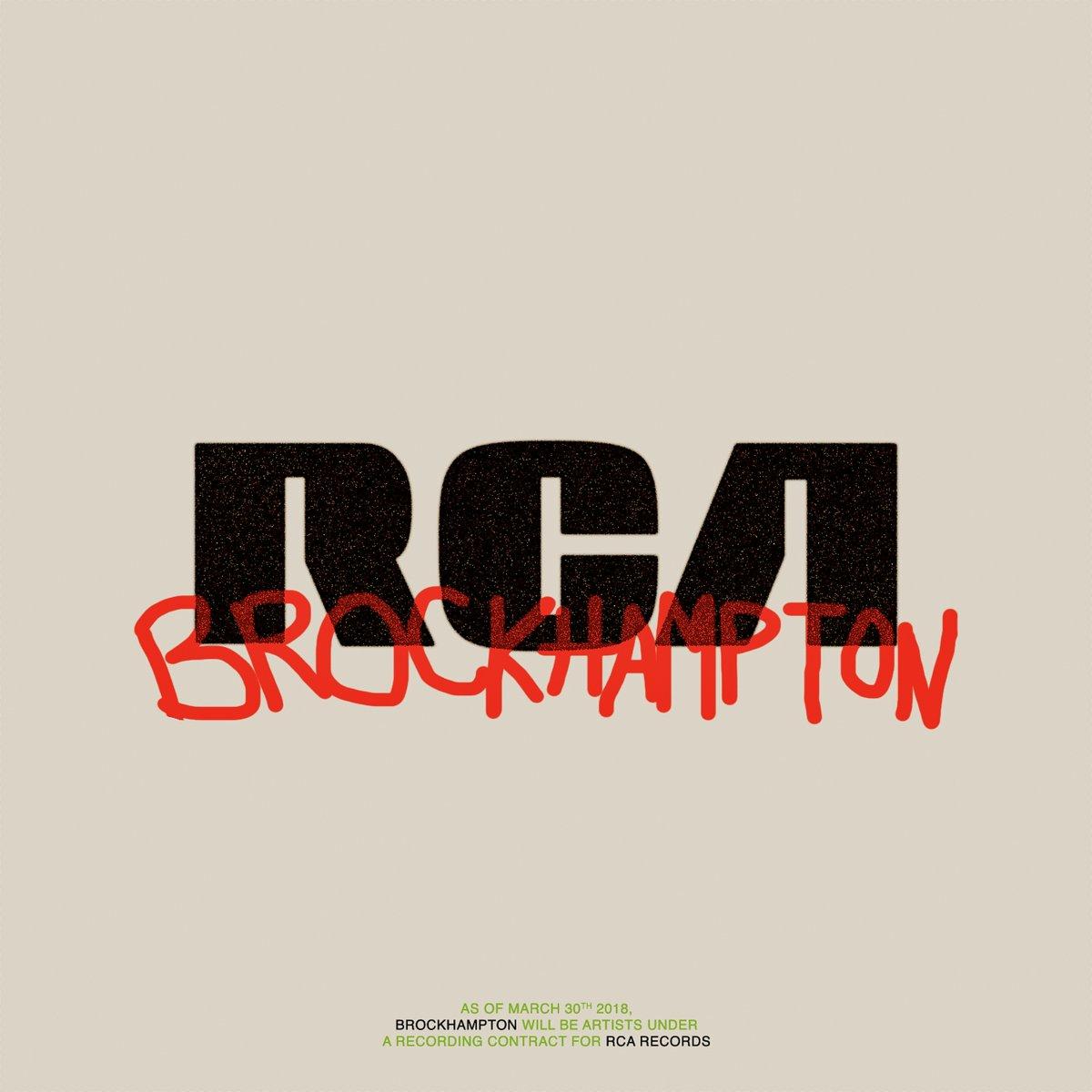 brockhampton rca records