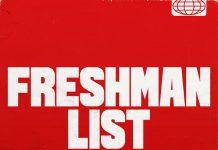 nav freshman list