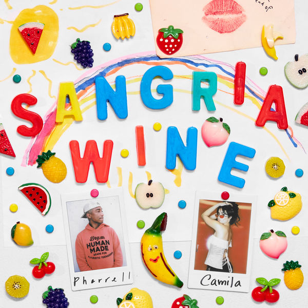 pharrell williams camila cabello sangria wine