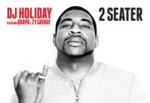 dj holiday 2 seater
