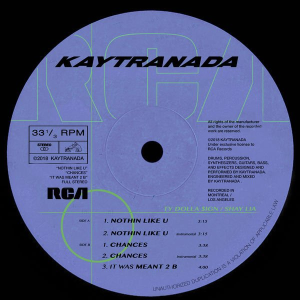 kaytranada nothin like u chances