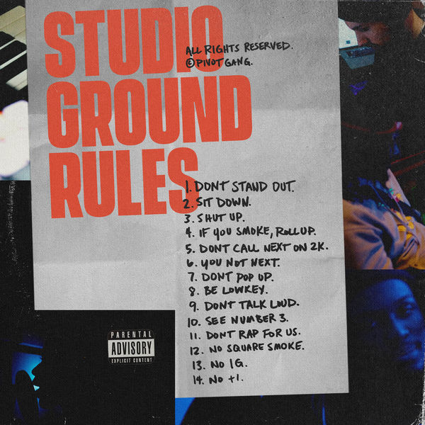 pivot gang studio ground rules
