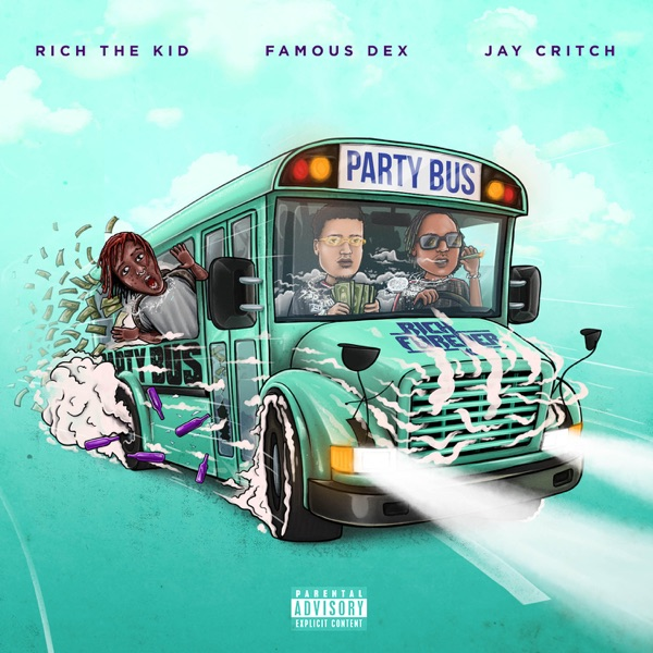 famous dex jay critch rich the kid party bus
