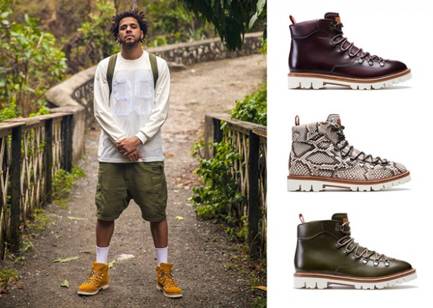 "J. Cole For Bally, ""Off the Grid"" Collaboration // Image via HipHopDX"