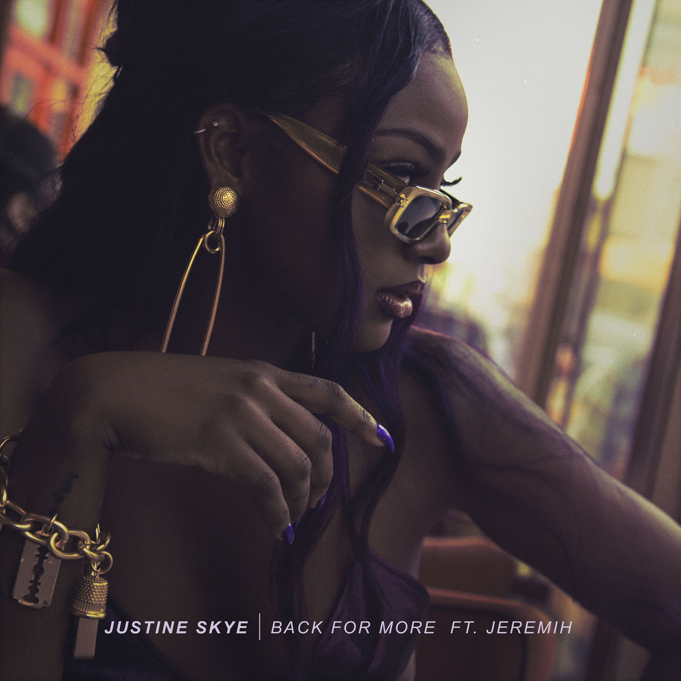 justine skye back for more