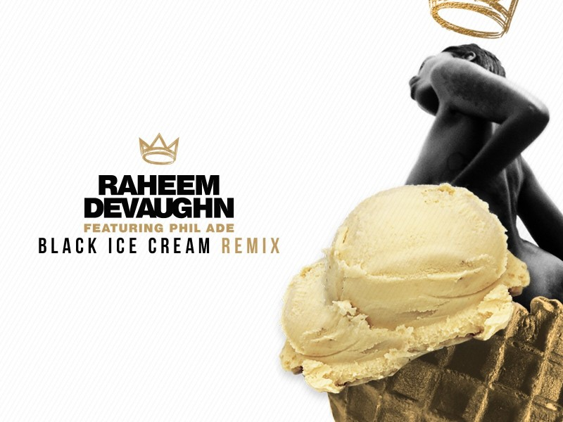 black ice cream remix