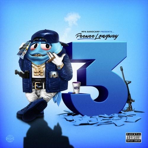 peewee longway blue m&m 3