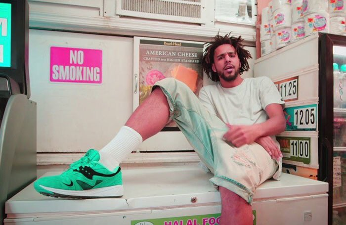 What Shoes Is J Cole Wearing In False Prophets