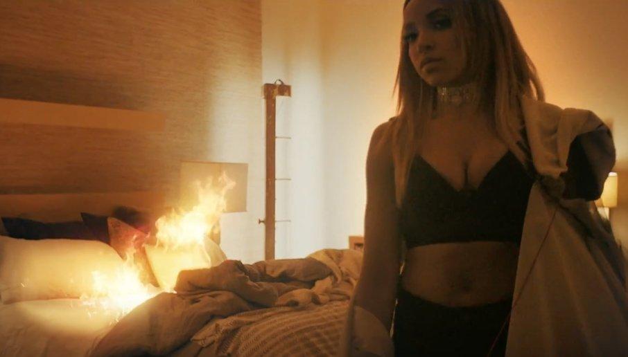 tinashe flame music video