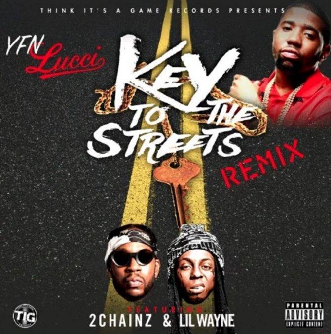 yfn lucci keys to the streets remix lil wayne