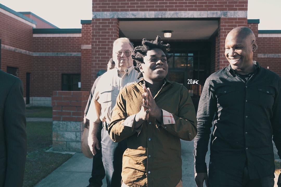 kodak black released from prison