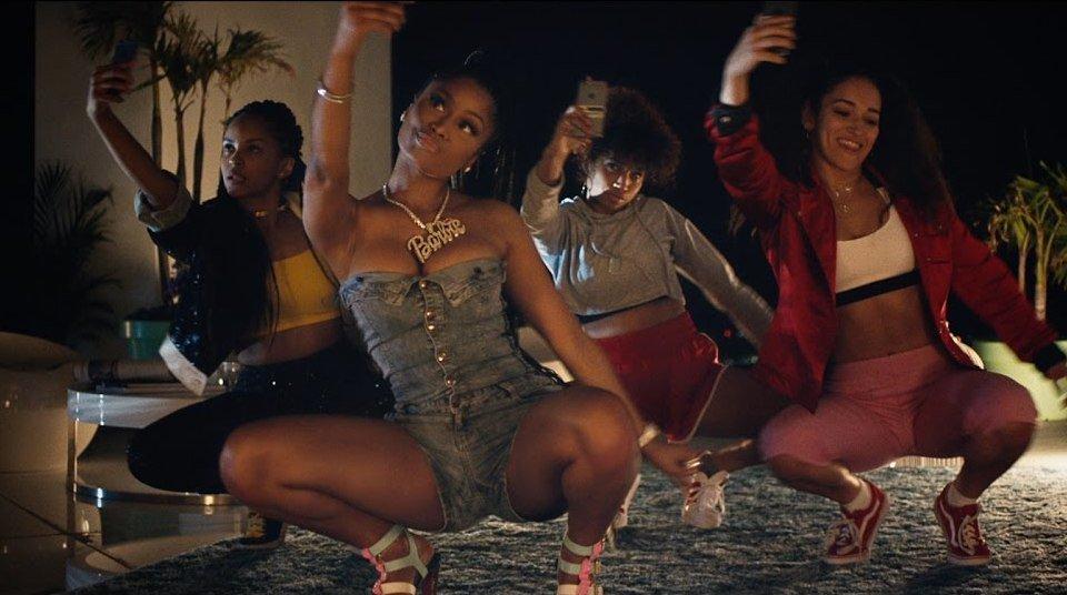 major lazer run up music video