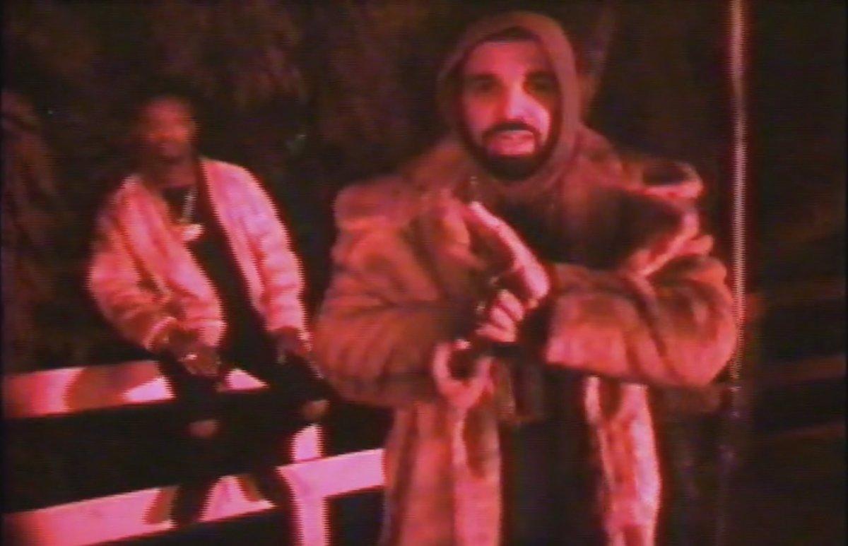 drake sneakin music video