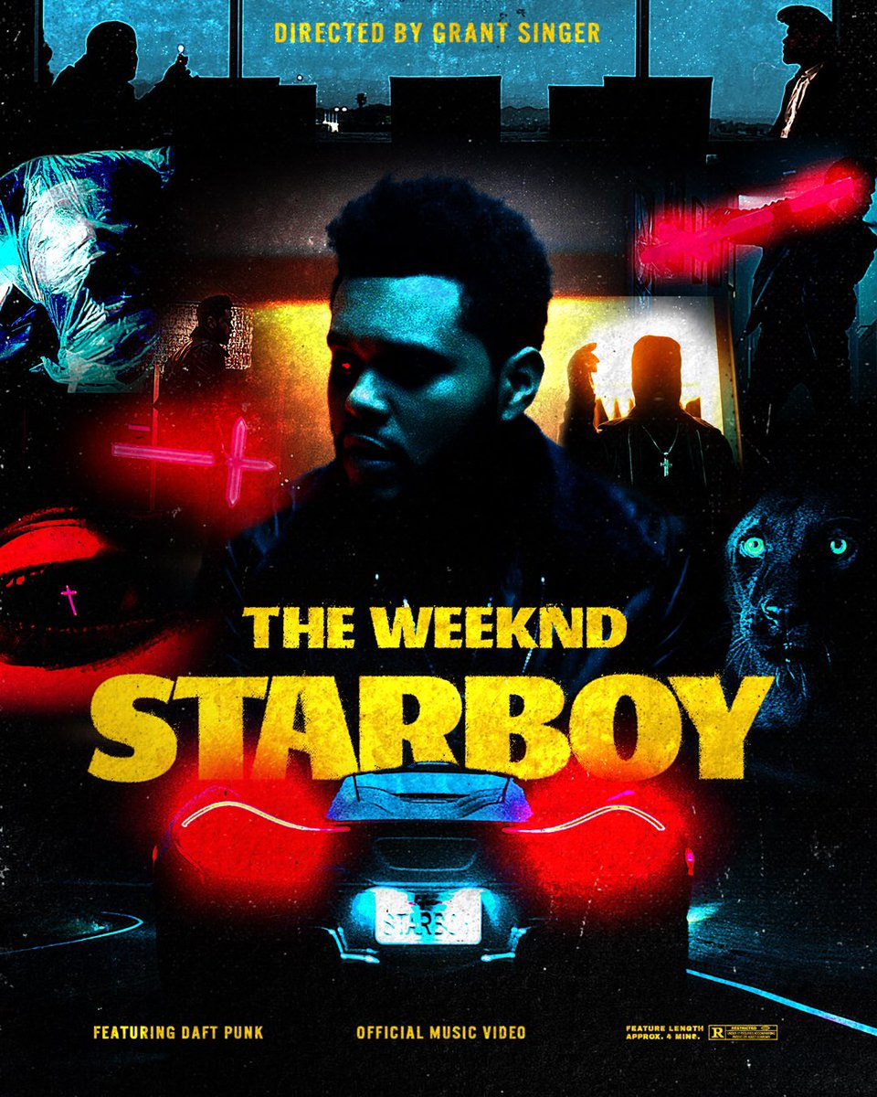 the weeknd starboy music video