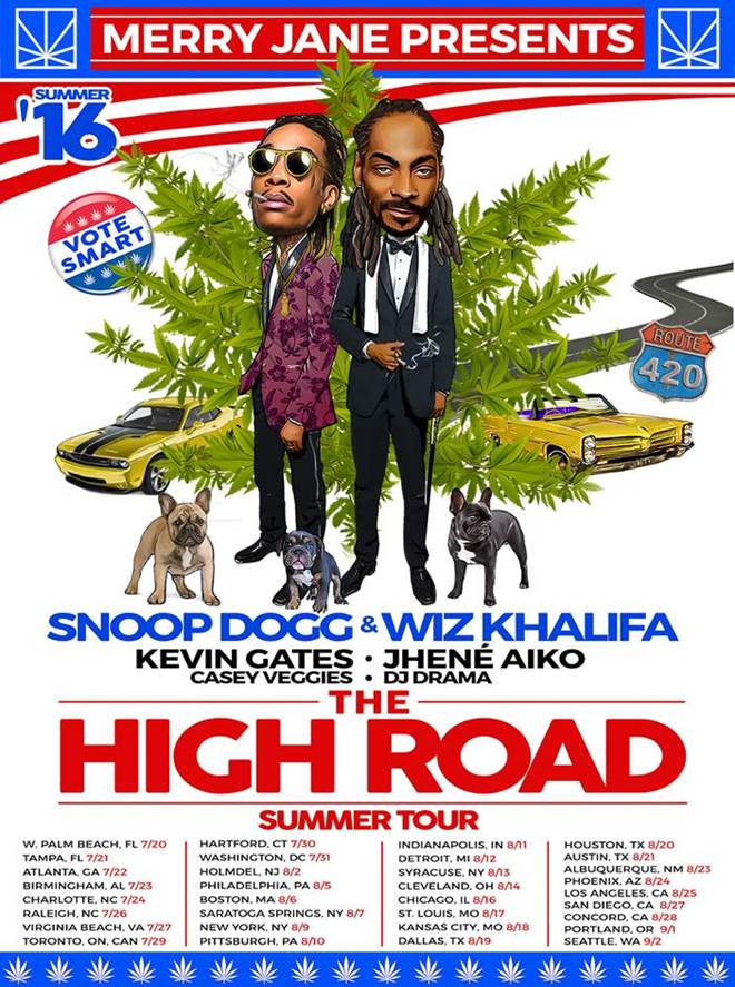 the high road tour dates