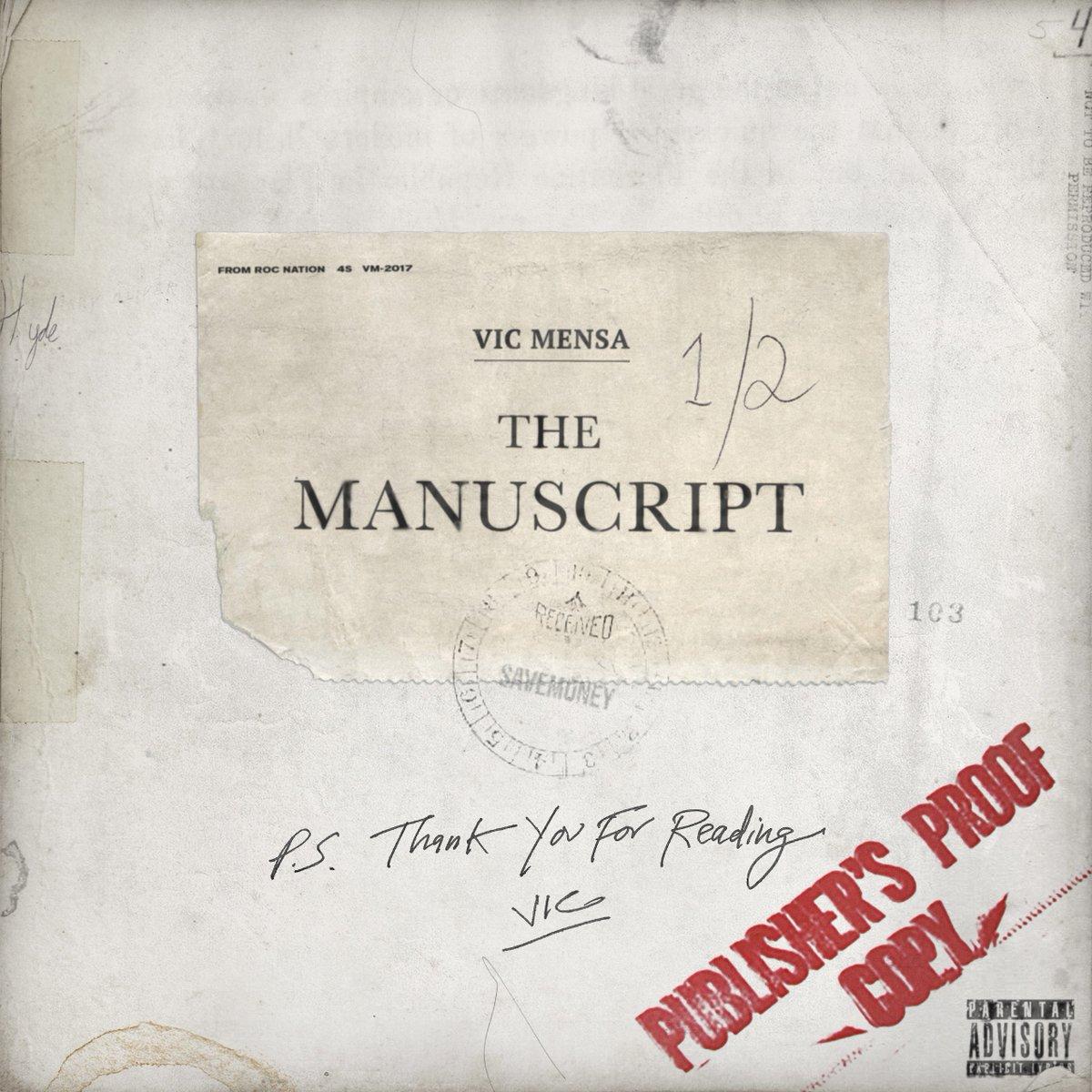 the manuscript vic mensa
