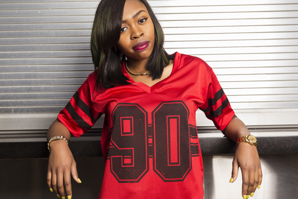 Tink poses for a portrait prior to her performance at Red Bull Sound Selects Presents 4 Days in Austin, in Austin, TX, USA on 13 March, 2014.